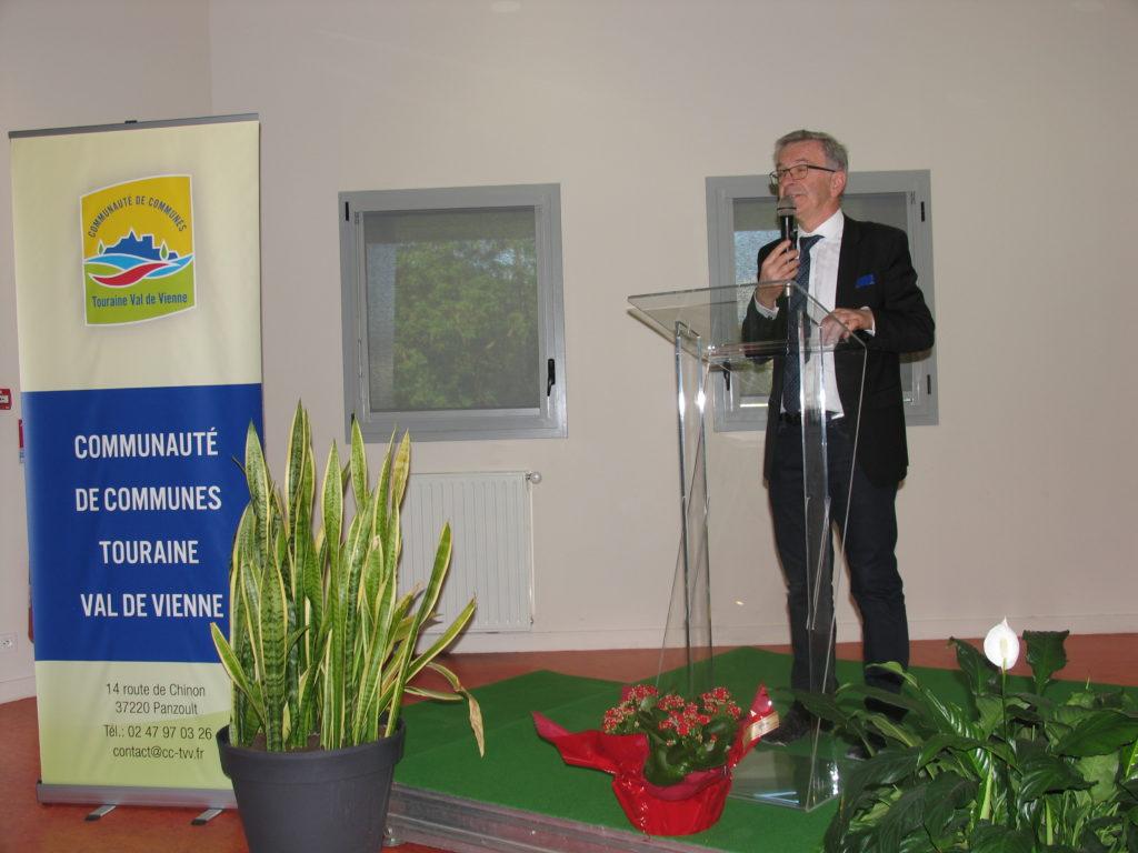 François Bonneau, président de la Région centre Val de Loire