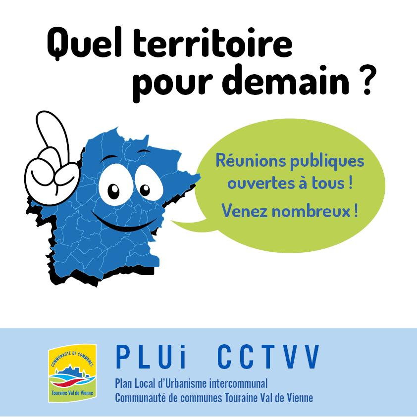 PLUi Touraine Val de Vienne - Réunions publiques